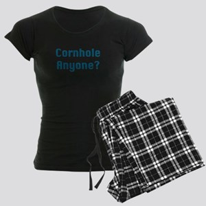 Cornhole Anyone? Women's Dark Pajamas