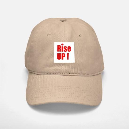 Rise UP! Baseball Baseball Cap