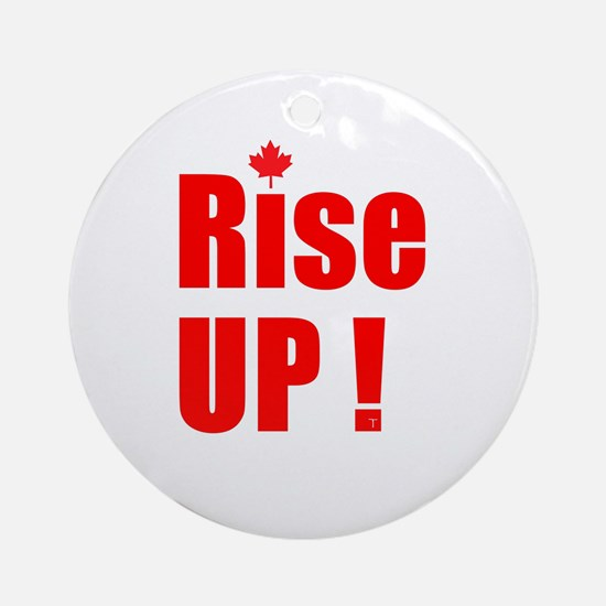 Rise UP! Ornament (Round)