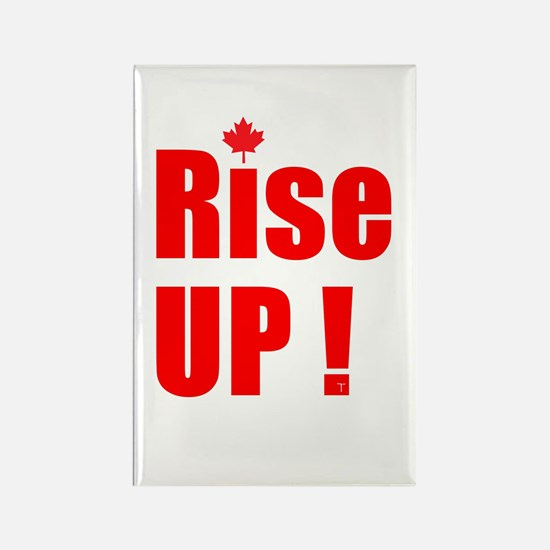 Rise UP! Rectangle Magnet