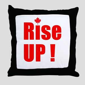 Rise UP! Throw Pillow