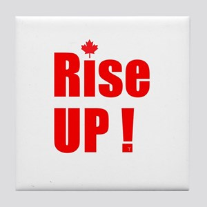 Rise UP! Tile Coaster