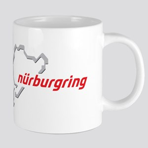 nurburgring map real 20 oz Ceramic Mega Mug