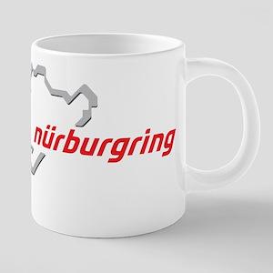nurburgring map real 20 oz Ceramic Mega Mug