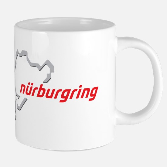 nurburgring map real.png 20 oz Ceramic Mega Mug