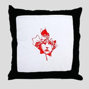 Cosette Canada Throw Pillow