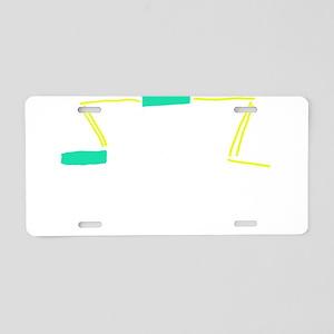 Death of a Mormon Aluminum License Plate