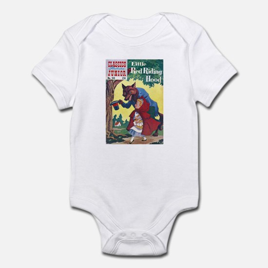 $19.99 Classic Red Riding Hood Infant Bodysuit