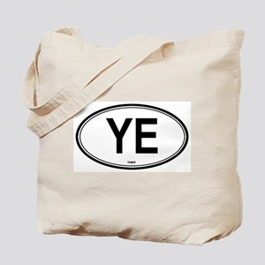 Yemen (YE) euro Tote Bag