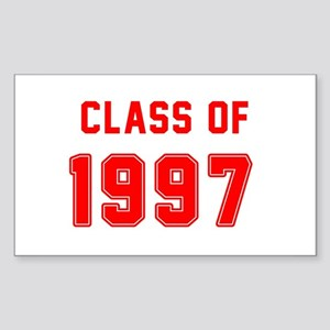 Class of 1997 Red Sticker