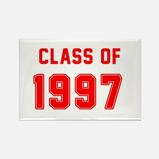Class of 1997 Red Magnets
