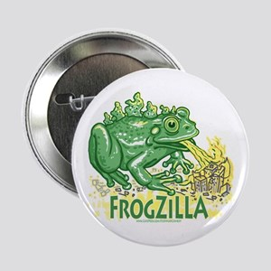 Frogzilla Fire-Croaking Frog Button