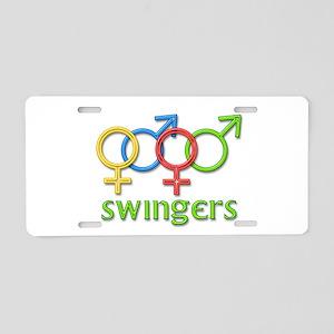 Swingers Aluminum License Plate