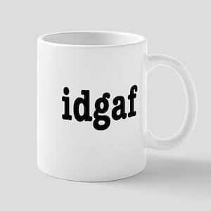 idgaf I Don't Give a F*ck Mug