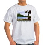 Tenaya Lake t-shirt--ash grey