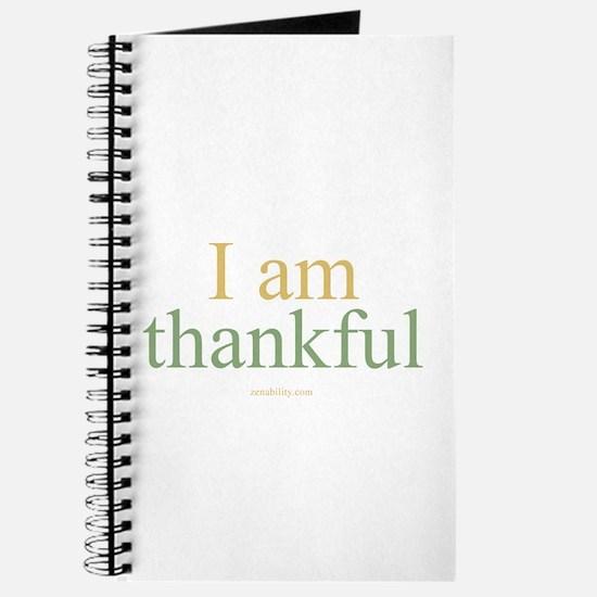 I am thankful Journal