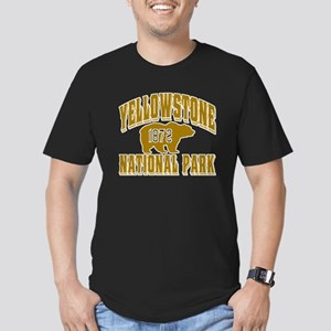 Yellowstone Old Style Gold Men's Fitted T-Shirt (d