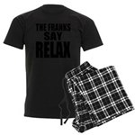 The Franks Say Relax Men's Dark Pajamas