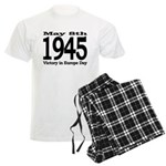1945 - Victory Europe Day Men's Light Pajamas