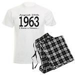 1963 - I Have a Dream Men's Light Pajamas