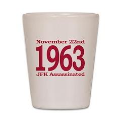 1963 - JFK Assassination Shot Glass
