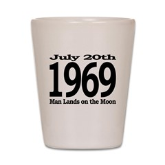 1969 - Man Lands on the Moon Shot Glass