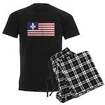 French American Men's Dark Pajamas