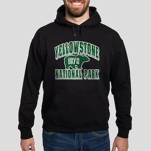 Yellowstone Old Style Green Hoodie (dark)