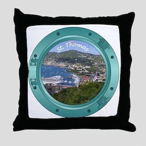 St Thomas Throw Pillow