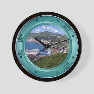 St Thomas Wall Clock