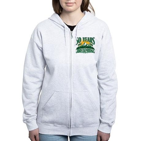Breckenridge Green Mountain Women's Zip Hoodie