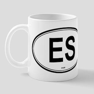 Spain (ES) euro Mug
