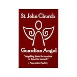 St. John Church Rectangle Magnet