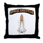 Space Shuttle Throw Pillow
