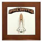 Space Shuttle Framed Tile