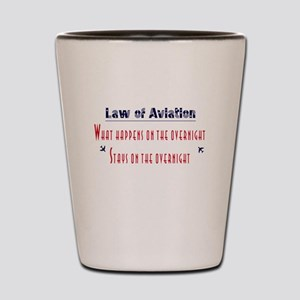 Aviation Shot Glass
