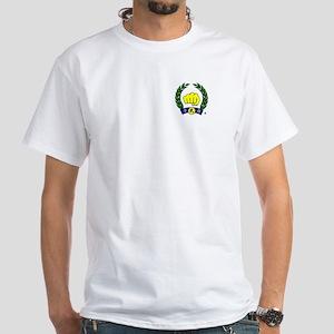 Founder & Kwan Jang Nim White T-Shirt