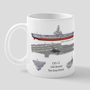 USS Hornet CV-12 CVA-12 Coffee Mug