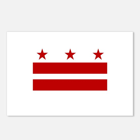 DC Pride Postcards (Package of 8)