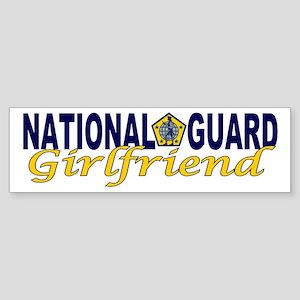 National Guard Girlfriend Bumper Sticker