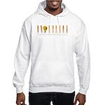 Pin line Hooded Sweatshirt