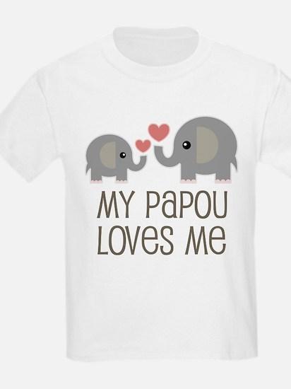 My Papou Loves Me T-Shirt