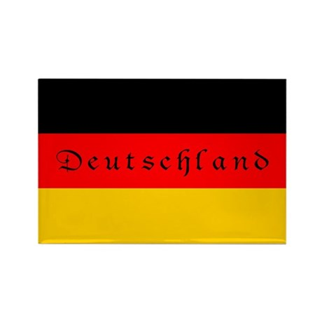 Germany Eagle Flag Rectangle Magnet