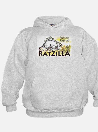 Ratzilla Fire-Spewing Rat Hoodie