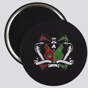Sigma beta Rho Fraternity Crest Magnet