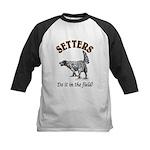 Setters- Do it in the field! Kids Baseball Jersey