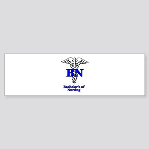 Bachelors of Nursing Sticker (Bumper)