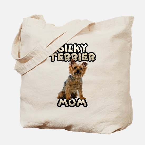 Silky Terrier Mom Tote Bag