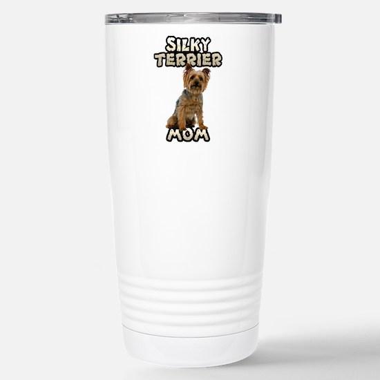 Silky Terrier Mom Stainless Steel Travel Mug