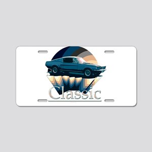 Ford mustang Aluminum License Plate